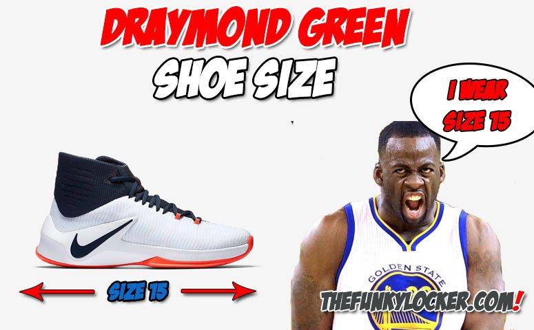 Draymond Green Shoe Size