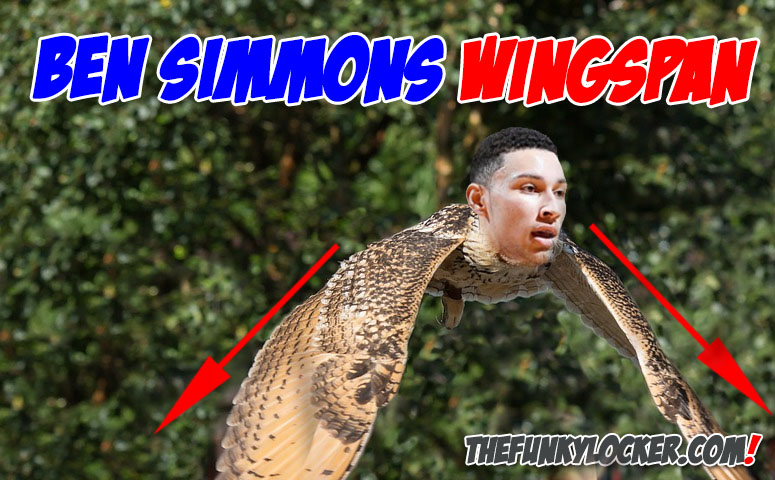 What is Ben Simmons Wingspan?