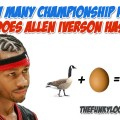 How Many Rings Does Allen Iverson Have?