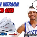 What Size Shoes Does Allen Iverson Wear?