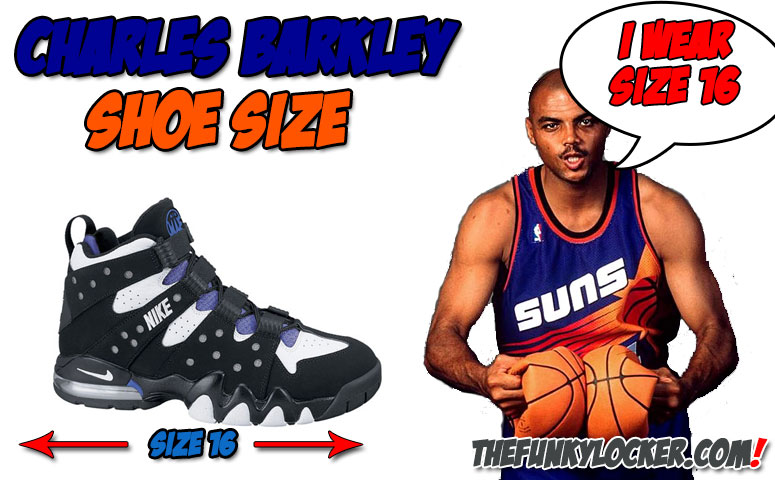 fa06f83b1493 Charles Barkley Shoe Size - Find Out What Size Sneakers Barkley Wears