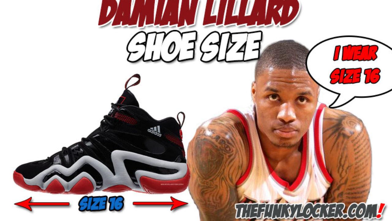 Damian Lillard Shoe Size Find Out What Size Sneakers Lillard Wears