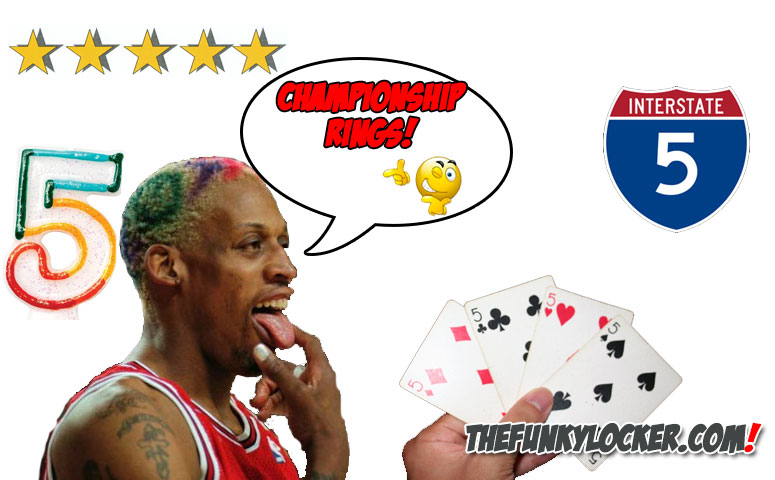 How Many Championships Does Dennis Rodman Have?