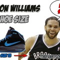 What Size Shoes Does Deron Williams Wear?