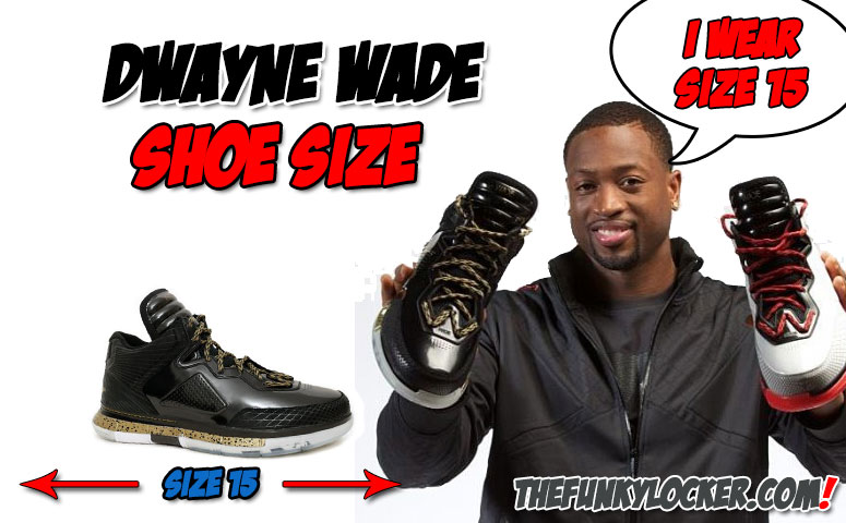 Dwayne Wade Shoe Size