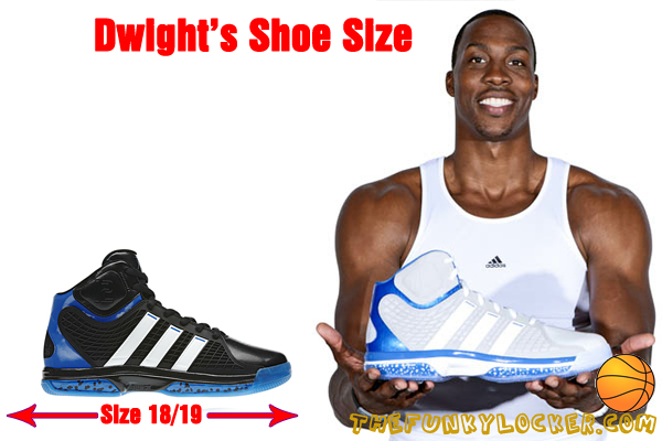 What is Dwight Howard's Shoe Size?