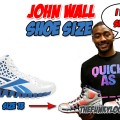 What is the Size of John Wall Feet?
