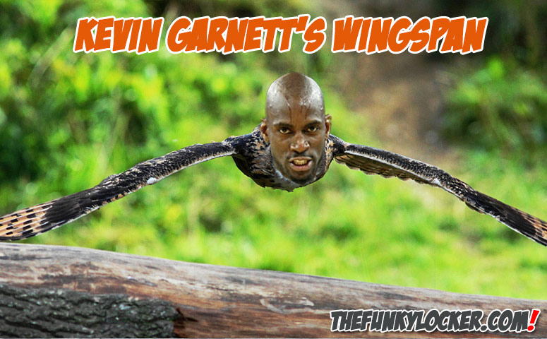 What Is Kevin Garnett's Wingspan?