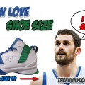 What Size Shoes Does Kevin Love Wear?