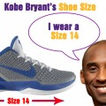 What is Kobe Bryant's Shoe Size?