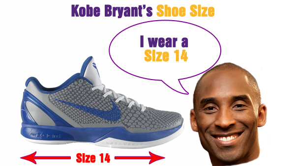 efdf52c7c068 What Size Shoes Does Kobe Bryant Wear