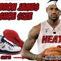 What Size Shoes Does Lebron James Wear