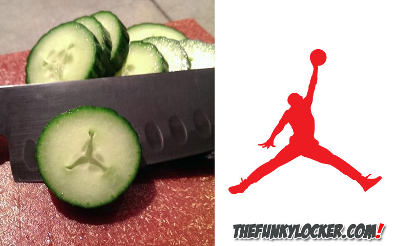 Air Jordan Logo in Cucumber