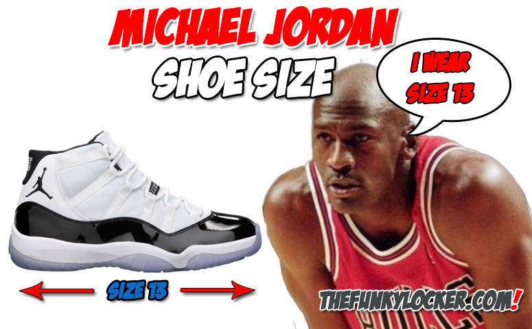 What Size Shoes Does Michael Jordan Wear?