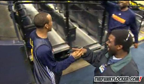 Monta Ellis Handshake