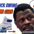 What Size Shoes Does Patrick Ewing Wear