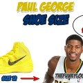 What Size Shoes Does Paul George Wear?