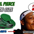 What Size Shoes Does Paul Pierce Wear?