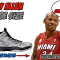 What Size Shoes Does Ray Allen Wear?
