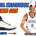 What Size Shoes Russell Westbrook Wears?