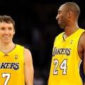 Steve Nash in Lakers Jersey