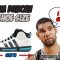 What Size Shoes Tim Duncan Wears?